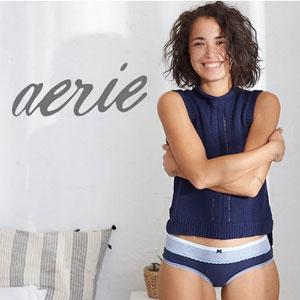 【更新】AE旗下Aerie新款内内8条$28+额外75折