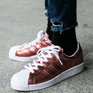 Adidas阿迪达斯Superstar Boost女士贝壳头