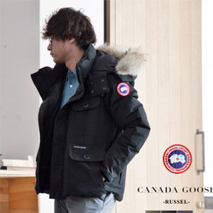 Canada Goose RUSSELL PARKA 男士短款羽绒服 日本限定款