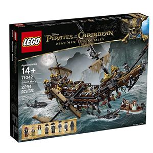 LEGO乐高 加勒比海盗系列 71042 沉默玛丽号