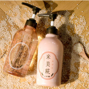 米美糀 大米糠发酵氨基酸无硅洗发水/护发素 500ml
