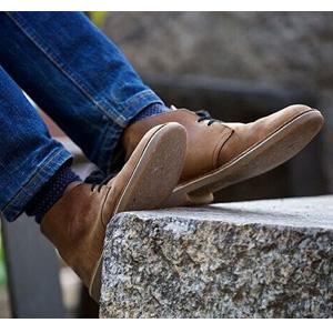 限US9.5码!Clarks其乐 经典男士沙漠靴 深棕色