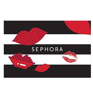 Sephora美国面值$100礼品卡