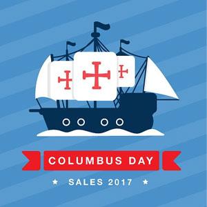 2017北美商家Columbus Day哥伦布日促销汇总