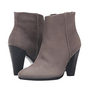ECCO 爱步Shape 75 女士真皮高跟踝靴 两色可选