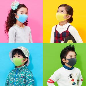 PITTA MASK儿童款彩色款水洗口罩 3件装