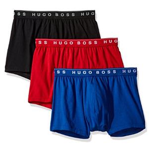 HUGO BOSS 男士平角内裤3条装