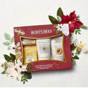 Burt's Bees 小蜜蜂 面部节日礼盒4件装