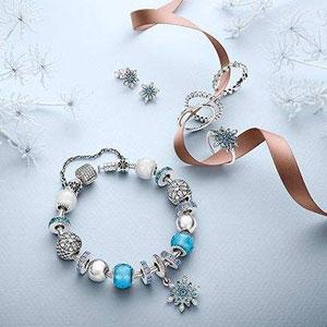 PANDORA美国满100送价值最高65刀的耳环或戒指