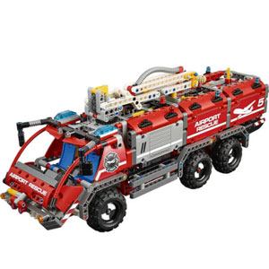LEGO乐高 Techinc 科技系列 42068 机场救援车