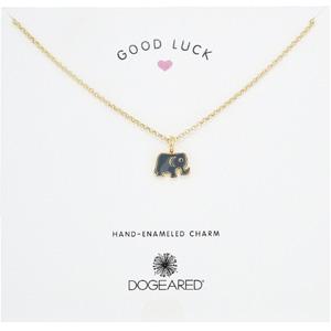 Dogeared 小象搪瓷金项链