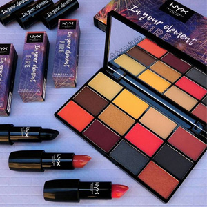 NYX In Your Element Shadow Palette元素12色眼影盘Fire色