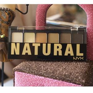NYX 大地自然裸色系列6色眼影盘 6g