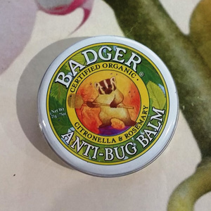 今日特惠!Badger贝吉獾 虫虫怕驱蚊膏 防虫膏 56g大铁盒装