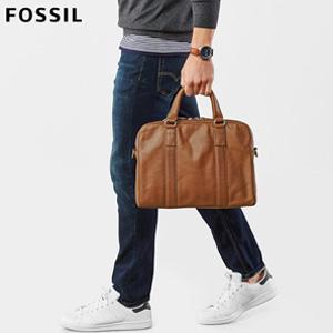 Fossil化石 Mayfair 男士真皮公文包