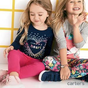 升级!Carter's卡特官网现有全场童装低至4折促销