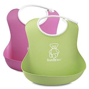 BABYBJORN 婴幼儿防漏食物围嘴 2只装