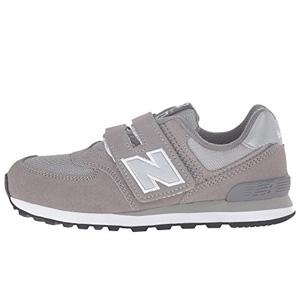 成人可穿!New Balance新百伦KV574大童款魔术贴运动鞋