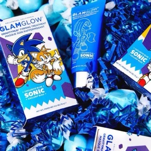 凑单品!Glamglow限量款Sonic Blue提拉紧致面膜 15g