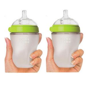 Comotomo可么多么 自然感觉硅胶奶瓶 250ml*2个