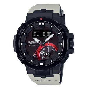 2017新款 CASIO卡西欧 PRW-7000TN-8JR 並木敏成限定款 6局电波太阳能男士手表