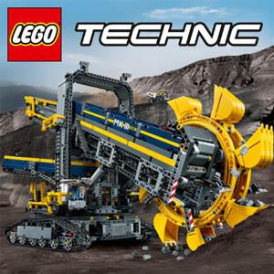 LEGO乐高科技系列 42055 斗轮挖掘机