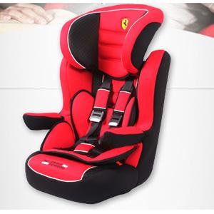法拉利 Ferrari TCV-S2100 儿童安全座椅(9个月-12岁)红黑色