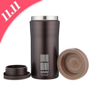 TIGER虎牌 MMK-B35C 不锈钢保温杯350ml 多色可选 *5件