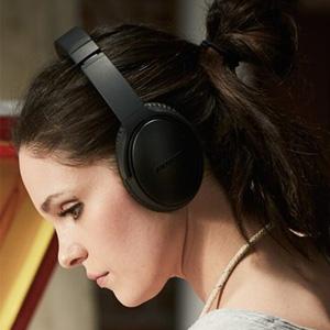 Bose QuietComfort 35 头戴式蓝牙降噪无线耳机 黑色