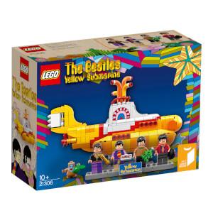LEGO乐高 21306 披头士黄色潜水艇