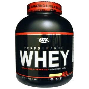 Optimum Nutrition运动乳清蛋白粉 香草奶昔 4.19磅(1.9kg)
