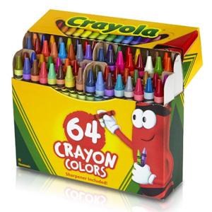 Crayola绘儿乐 彩色蜡笔 64支装