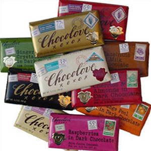 新低!比利时Chocolove信封黑巧克力 90g 多口味