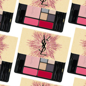 新品!Yves Saint Laurent YSL 17圣诞限量烟花彩妆盘