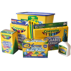 金盒特价!Crayola绘儿乐 儿童画笔玩具专场 低至6折