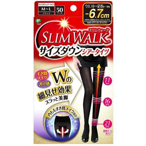 SLIM WALK蓓福丝翎 -6.7cm超显瘦美腿连裤袜 压力袜