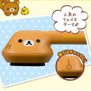 日本CCP 轻松熊造型 花粉灰尘 防静电吸尘刷