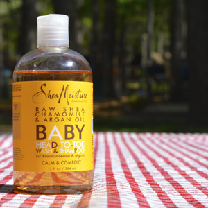 Shea Moisture婴儿乳木果洋甘菊 洗发沐浴二合一 384ml