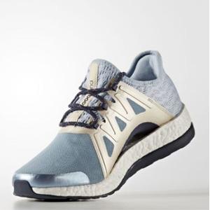 Adidas阿迪达斯 Pure Boost Xpose 女款跑鞋 蓝色款*2双