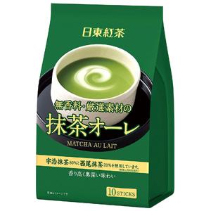 日东红茶 速溶抹茶欧蕾冲饮 30包
