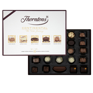 Thorntons桑顿 Continental 巧克力礼盒 284g