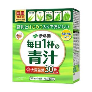 伊藤园 每天一杯青汁(粉末类型)7.5g*20包