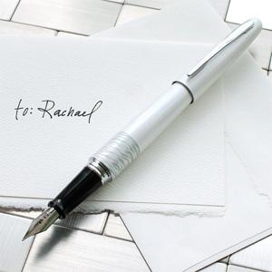 PILOT百乐 动物纹身系列 钢笔 白色M尖