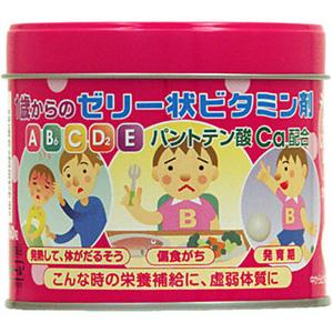 乐天国际 大木制药 婴幼儿5种复合维生素软糖160粒补货