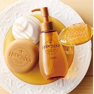 SANA Honeyshca 蜂蜜 多效合一 导入精华液150ml