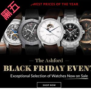 Ashford 精选腕表黑五促销