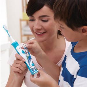 新低!Philips飞利浦HX6311声波震动儿童牙刷