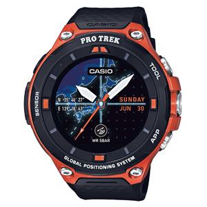 CASIO卡西欧 WSD-F20-RG RPO TREK GPS智能手表