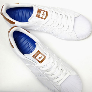Adidas Superstar Vulc ADV 男款小白鞋
