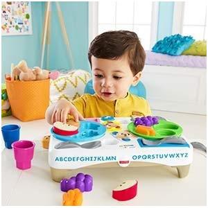 Fisher-Price费雪 FFC82 智玩宝宝餐盘组 双语版 *3件